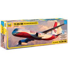 """ZVEZDA 7023 Model Kit """"Civil Airlines TU-204-100 RED WINGS"""""""