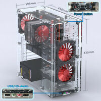 Acrylic ATX Standard Computer PC Case Part Kit Upgraded DIY Personalized 2019