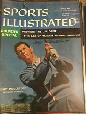 Cary Middlecoff Autographed Signed Sports Illustrated Magazine Cover US Open