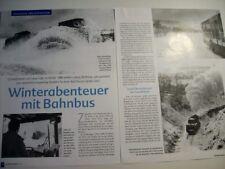 Foto Bericht, Eisenbahn,Bundesbahn,Klima Schneepflug,Bahnbus Bestwig-Frankenberg