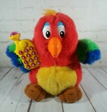 """Vtech Mr. Squawky Talking Electronic Learning Plush Parrot Bird W/ Phone 11"""""""