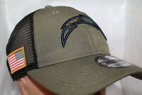 Los Angeles Chargers NFL New Era Camo Service Patch Snapback 9Twenty,Cap,Hat NEW