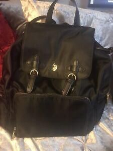 polo ralph lauren backpack Black