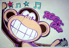 "32"" BOBBY JACK MONKEY ROCK STAR SET CHARACTER WALL SAFE FABRIC DECAL CUT OUT"