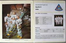 s1844) Raumfahrt Space Kosmos - Apollo 8 Sammlung mit Autogrammen