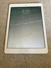 Apple iPad Air 1st Gen. 32GB, Wi-Fi, 9.7in - Silver (Great Condition)