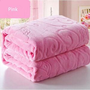 super soft summer blanket coral fleece air conditioning blanket sheet quilt thin