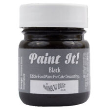 Rainbow Dust Paint It Tortendekorationen 100% Essbar Lebensmittelfarbe SCHWARZ