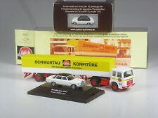 NEU: Wiking C&I SoMo Konvolut I: Mercedes 230.6 /8 zweifarbig + MAN Schwartauer