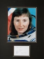 HELEN SHARMEN Signed 16X12 Photo Display MIR SPACE STATION, Soyuz TM-11 COA