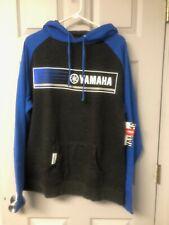 Yamaha Blue Rev's 2Tone Hoodie - Size Medium - Genuine Yamaha - Brand New