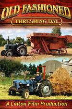 Old Fashioned Threshing Day (Farming Documentary DVD)
