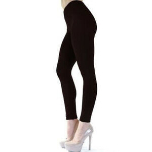 Angelina Seamless Fleece Leggings One Size - 014  Retail $29.95