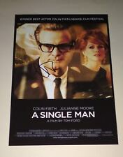 """A SINGLE MAN PP SIGNED 12X8"""" POSTER COLIN FIRTH"""
