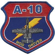 USAF A-10 Hog Driver Patch NEW!!!