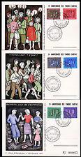 Lussemburgo 517-22 FDC-carte, Caritas 1953