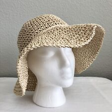 BABY GAP Child/Youth Natural Crochet Floppy Sun Hat