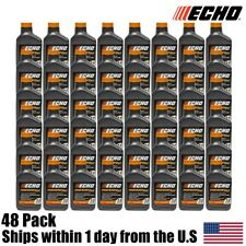 (1) Case Echo Oil (48) 6.4 oz Bottles 2 Cycle Mix for 2.5 Gallon GOLD 6450025G