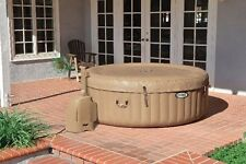 4-Person Outdoor Inflatable Portable Hot Tub Spa Water Massage 120 Bubble Jets