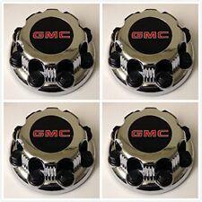 4X SAVANA SIERRA YUKON XL 8 LUG WHEEL HUB CENTER CAPS OEM# 9597991 For GMC