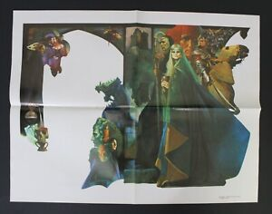 "1985 SANJULIAN + ESTEBAN MAROTO Poster 54 x 41.5 cm (21.25"" x 16.25"") Vtge Spain"
