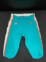 #26 MIAMI DOLPHINS NIKE GAME USED AQUA CURRENT STYLE PANTS 2019/2020 SEASON