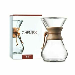 Chemex Classic 8 Cup CM-8A Coffee Maker brand new