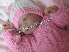 Honeydropdesigns * triple trouble * papier knitting pattern baby/reborn 3 tailles