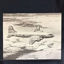 Vintage McDonnell Douglas C-54 Skymaster Vendor Aircraft Print