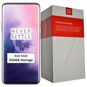 New OnePlus 7 PRO Dual-SIM 256GB/8GB RAM Mirror Gray Factory Unlocked GSM