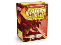 Dragon Shield Red Card Sleeve Protectors 100 Pack, Free Shipping!