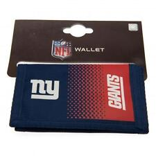 NFL NEW YORK GIANTS FADE MONEY WALLET PURSE COIN NOTE CARD MEN NEW XMAS GIFT