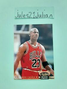 1992/93 Topps Stadium Club Michael Jordan Paraelel Card Bulls 🐐 NBA Super⭐🏀😲