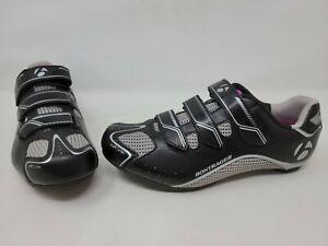 BONTRAGER SOLSTICE ROAD WOMEN'S CYCLING SPIN SHOE SIZE 10.5 US EU 42 BLACK