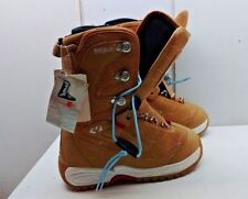 ThirtyTwo Advanced Snowboard Footwear Ankle Boot Brown Strap In Women Shoes 6.5M