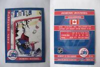 2015 SCA Dominic Roussel Winnipeg Jets goalie never issued produced #d/10