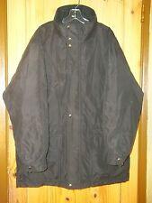 Claiborne Vintage Black Puffy Down Coat, Mens L-XL