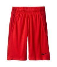 Nike Mesh Shorts Boy's Large University Red/Gym Red