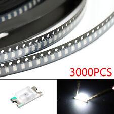 3000Pcs 1206 (3216) White Light SMD SMT LED Diodes Emitting Super Bright New