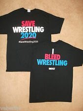 USA Save Wrestling 2020  I Bleed Wrestling  TNA  Large T Shirt NEW!