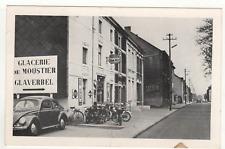 CPA Belgique Moustier sur sambre rue du glacier /cp725