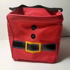 Thirty One Littles Carry All Caddy Santa Suit Christmas Gift Bag Storage