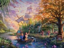 Jigsaw Puzzle Entertainment Disney Pocahontas 750 pieces NEW Made in USA