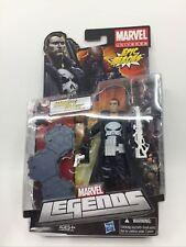 Marvel Legends Punisher White Variant Figure RARE NEW Epic Heroes Package Damage