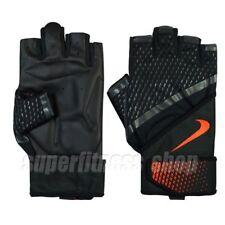 Nike Destroyer Trainning Gloves Half Finger Size L, Black x Orange