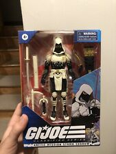 Hasbro G.I. GI Joe Classified Series Arctic Mission Storm Shadow Ready To Ship.