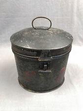 Antique American Tole Oval Box
