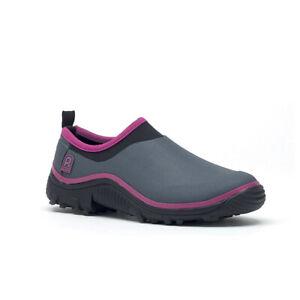 Shoe Woman ROUCHETTE Trial Grey/Raspberry Clog Rubber, Foam, Neoprene
