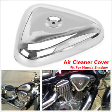 Chrome Air Cleaner Filter Cover Triangle fit for Honda Shadow VT600C/CD 1988-08