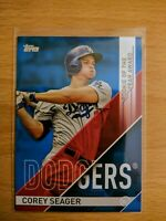 Corey SEAGER 2017 Topps #ROY-2 Rookie of the Year Award BLUE Parallel
